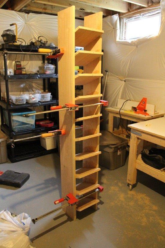 Construir un sistema de almacenamiento de calzado Garaje