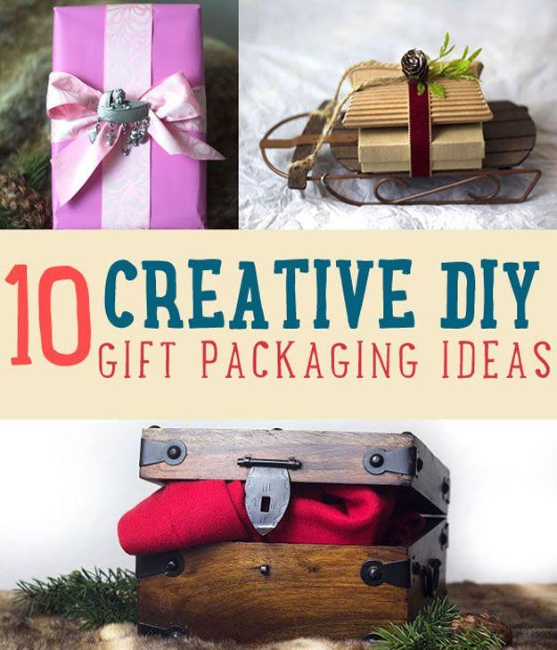 Fotografía - 10 Ideas de regalo creativo de embalaje | Envoltura de regalo de Navidad Ideas