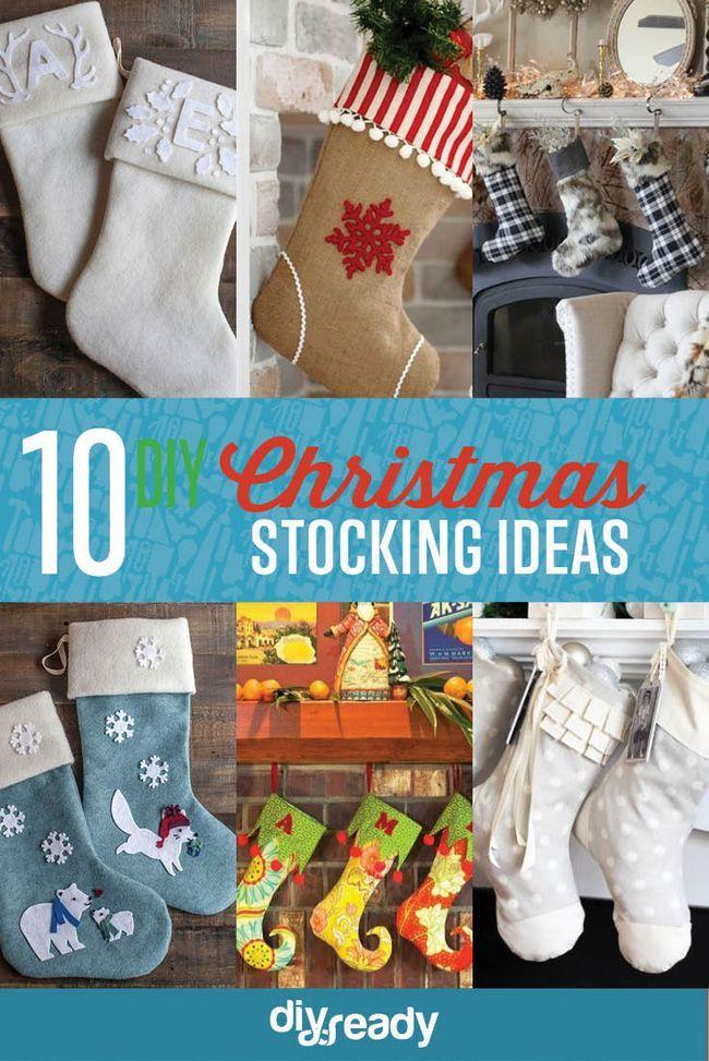Fotografía - 10 DIY Medias de Navidad | Proyecto de Navidad hechos en casa