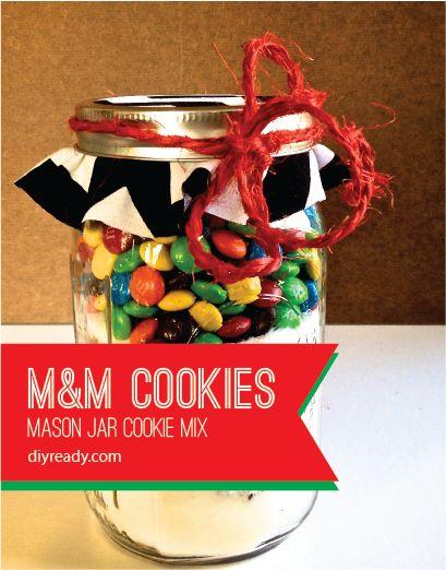 10 Mason Recetas de la galleta del tarro de otoño-Inspirado, échale un vistazo al inspiradas-10-caída-mason-jar-galleta-recetas