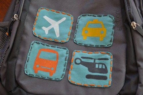 Personalice sus mochilas