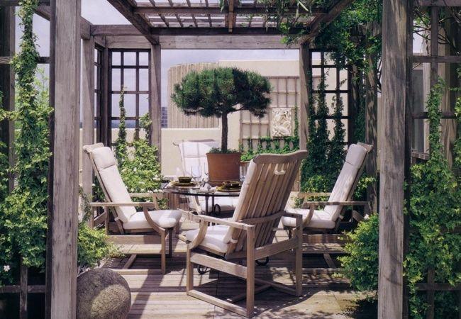Al aire libre Diseño de habitaciones - enrejado del recinto