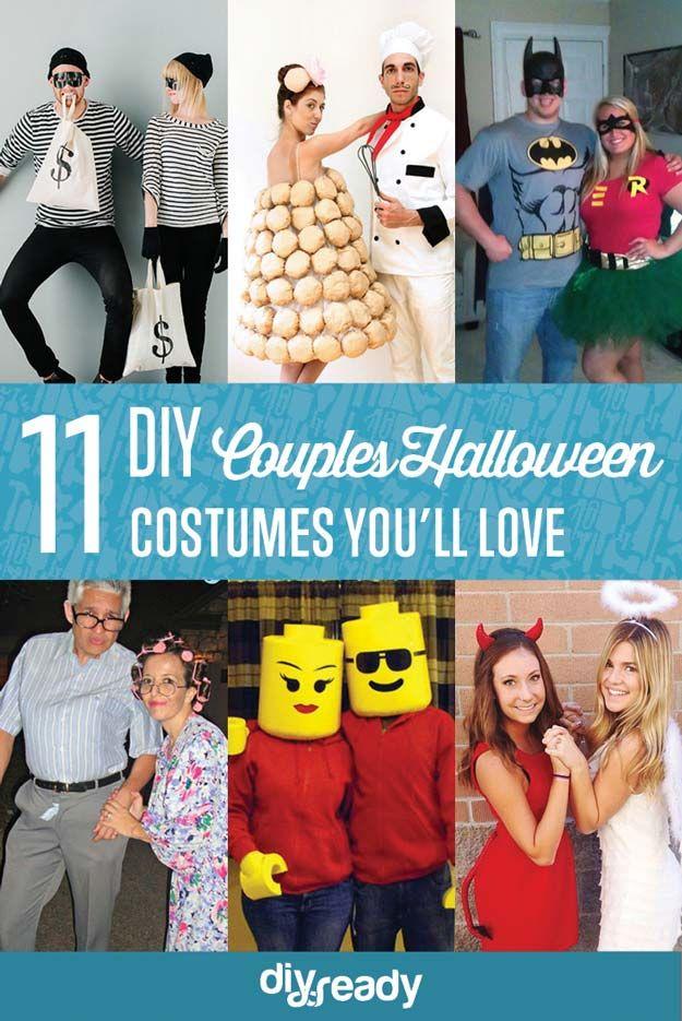 Echa un vistazo a 11 DIY Disfraces parejas de Halloween en http://artesaniasdebricolaje.ru/11-diy-couples-halloween-costumes/