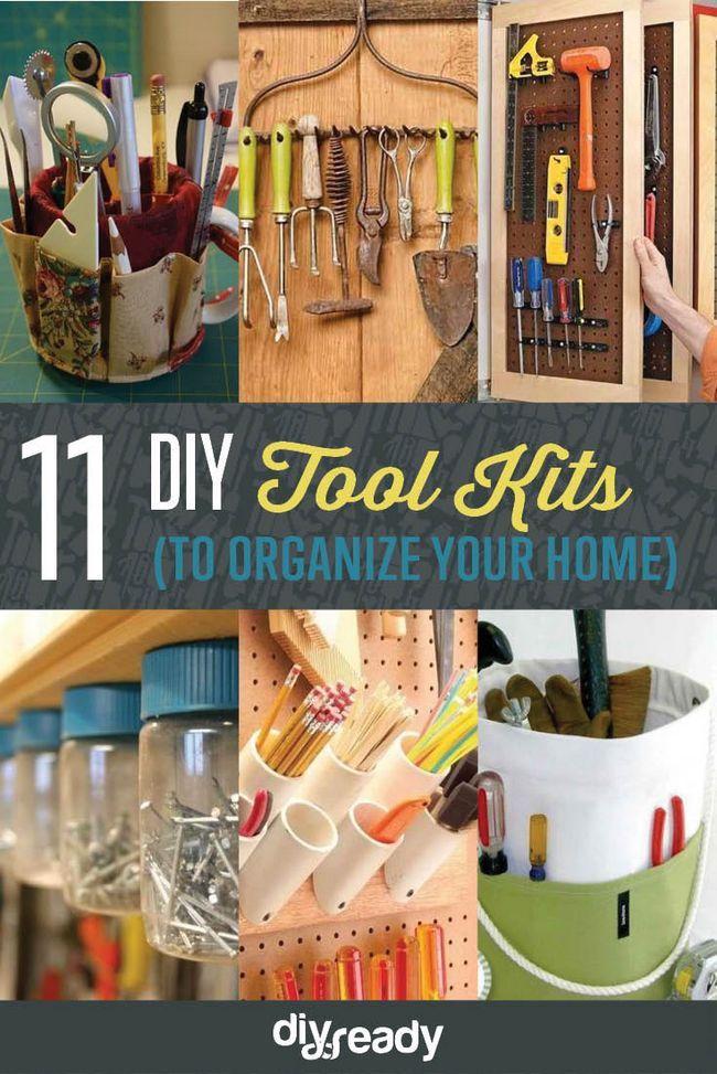Fotografía - 11 kits de herramienta de bricolaje | Ideas herramienta Organizador que usted puede hacer en casa