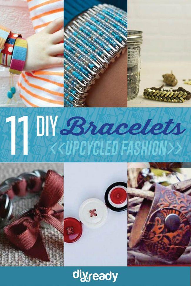 Fotografía - 11 Ideas Upcycled Pulsera | DIY pulsera