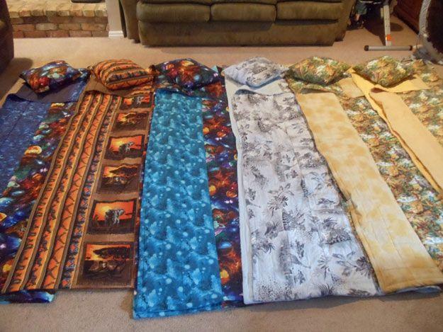 Manta ponderado DIY ajustable y lavable   http://artesaniasdebricolaje.ru/11-weighted-blanket-diy/
