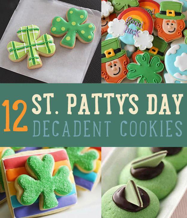 Fotografía - Día Recetas de la galleta 12 decadente St. Patrick