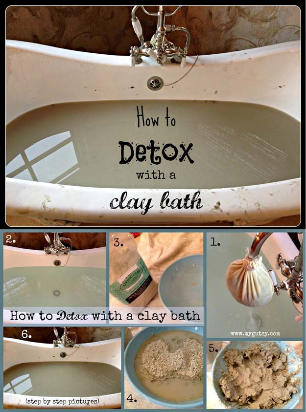 Natural y Baño DIY fácil Detox   http://artesaniasdebricolaje.ru/12-diy-detox-baths/