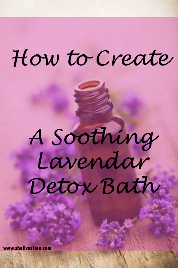 DIY Detox Bath Receta | http://artesaniasdebricolaje.ru/12-diy-detox-baths/