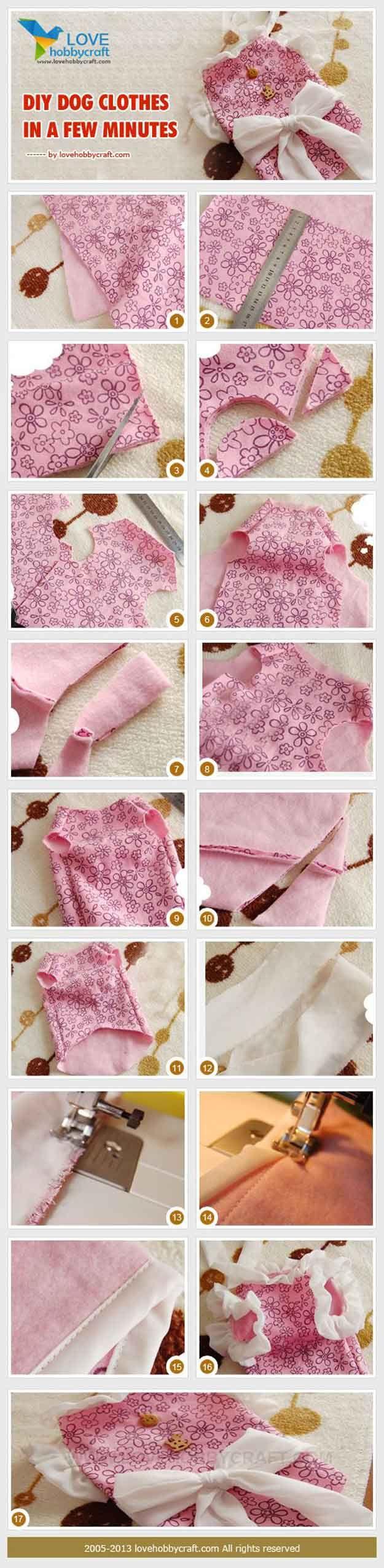 Echa un vistazo a 12 de bricolaje ropa y abrigos para perros en http://artesaniasdebricolaje.ru/las-habitaciones-y-los-espacios/30746-12-de-bricolaje-ropa-y-abrigos-para-perros.html