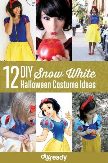 Fotografía - 12 Ideas DIY nieve traje negro para Halloween