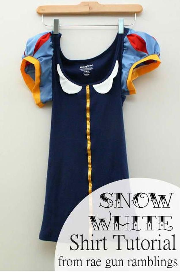 Chicas' Snow White costume to make this Halloween