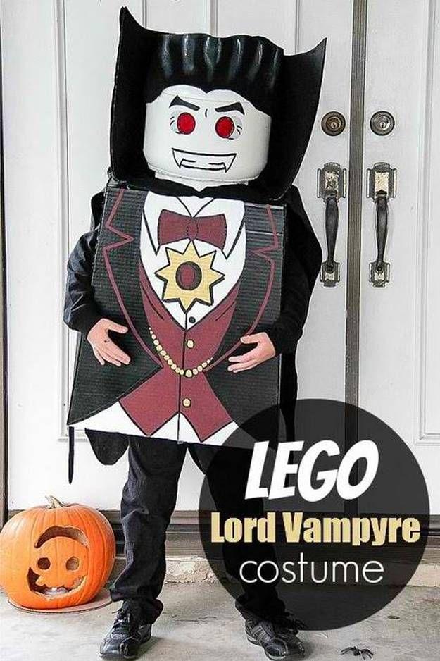LEGO Señor Vampyre idea del traje de vampiro de bricolaje, ver más a http://artesaniasdebricolaje.ru/diy-vampire-costume
