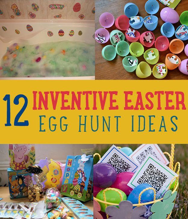 Fotografía - 12 Inventiva del huevo de Pascua Caza Inspiración niños les encantará