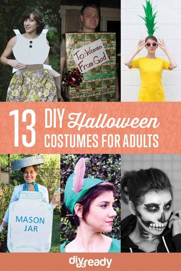 Echa un vistazo a 13 Disfraces Clever DIY de Halloween para adultos en http://artesaniasdebricolaje.ru/13-clever-diy-halloween-costumes-for-adults/