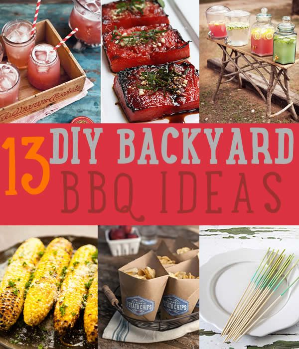 Echa un vistazo a último verano Backyard BBQ & Party Ideas en http://artesaniasdebricolaje.ru/summer-backyard-bbq/