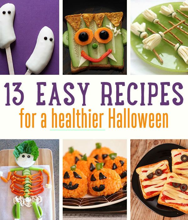 Fotografía - 13 Easy & Healthy Recetas de Halloween