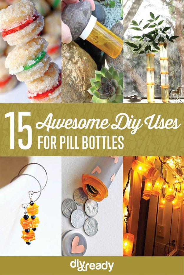 Fotografía - 15 DIY impresionante Usos para botellas de píldora