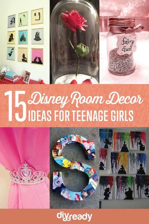 Fotografía - 15 Enchanted DIY adolescentes Ideas Chica por la estancia de Disney Fans