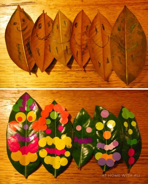 Hoja Gente - 15 Fabulous Fall Leaf Crafts for Kids