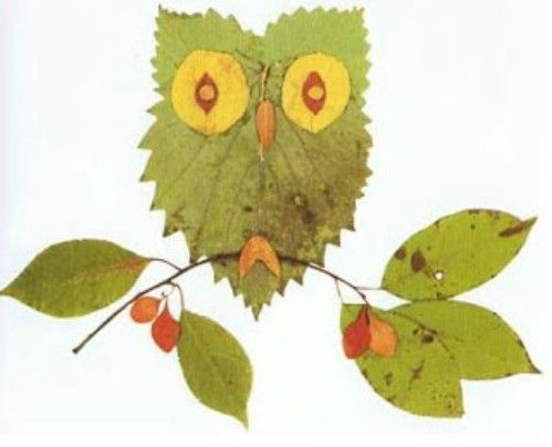Hoja Critters - 15 Fabulous Fall Leaf Crafts for Kids