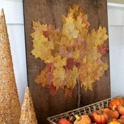 Acción de Gracias Wall Art - 15 Fabulous Fall Leaf Manualidades para niños