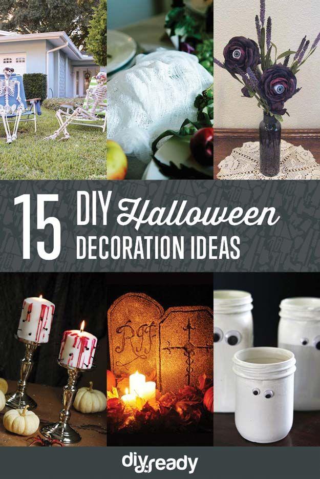 Echa un vistazo a los 15 Proyectos de Halloween decoración de bricolaje en http://artesaniasdebricolaje.ru/15-halloween-decor-diy-projects/