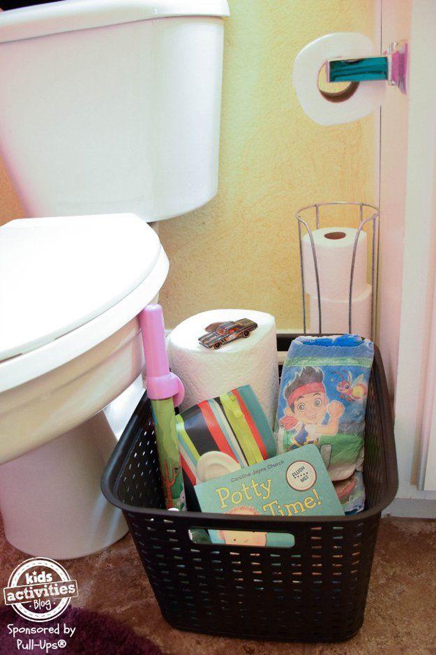 Barato y creativo Organización Baño DIY | http://artesaniasdebricolaje.ru/organization-hacks-bathroom-storage-ideas/