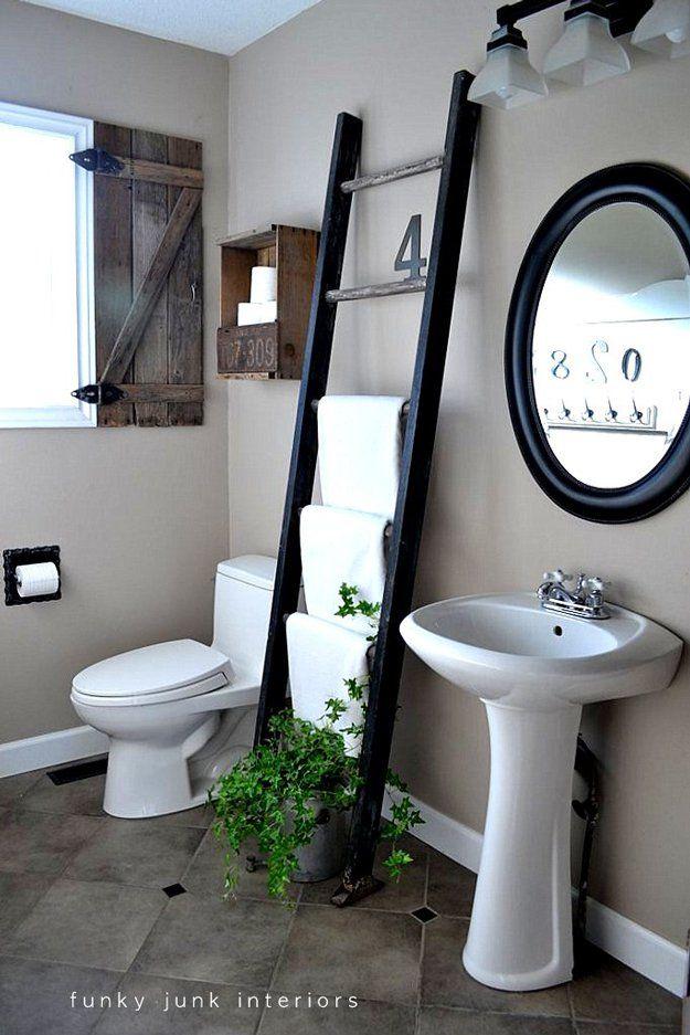 Barato y Fácil Organización Baño DIY | http://artesaniasdebricolaje.ru/organization-hacks-bathroom-storage-ideas/