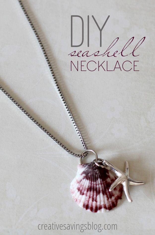 Fácil DIY Collar Tutorial | http://artesaniasdebricolaje.ru/diy-necklaces-diy-jewelry/