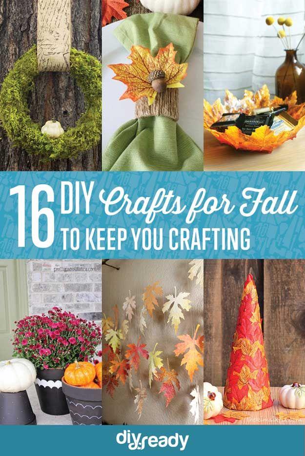 Fotografía - 16 Oficios de bricolaje para el otoño