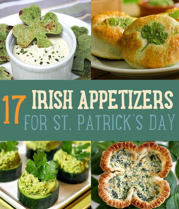 Fotografía - 17 Delicioso St Patrick Day Aperitivos Recetas