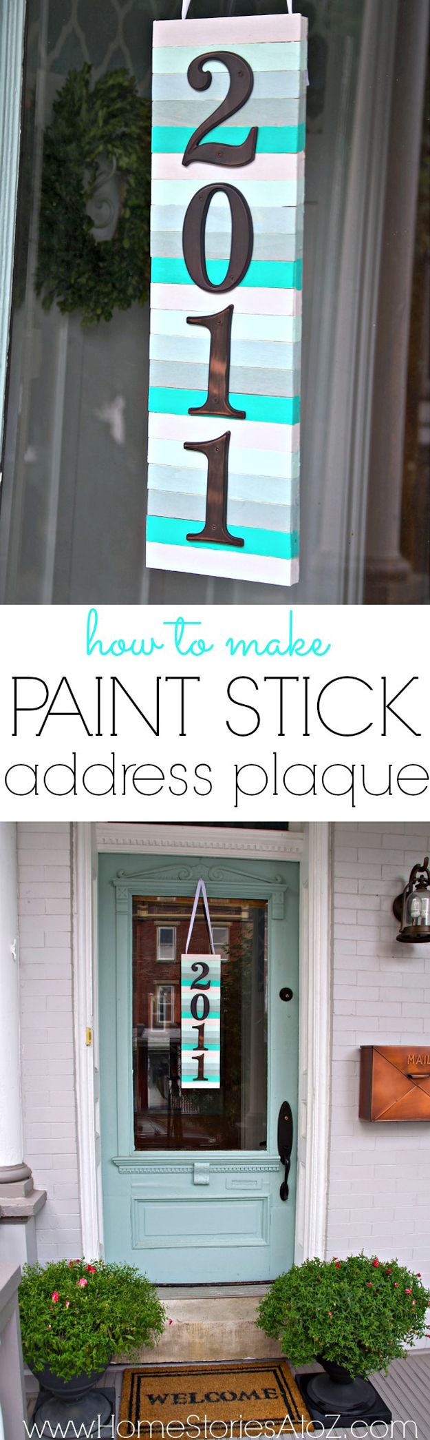 Pintar palillo Ideas Arte y Proyectos | http://artesaniasdebricolaje.ru/paint-stick-diy-projects/