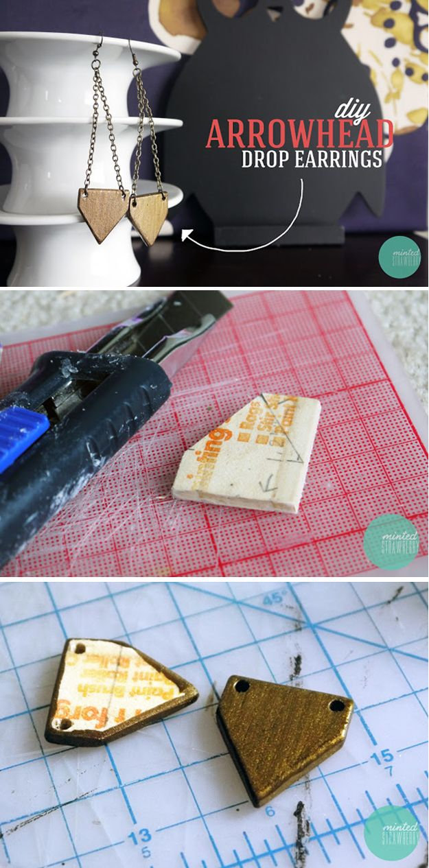 DIY fácil Proyecto Craft con Paint Sticks Tutorial | http://artesaniasdebricolaje.ru/paint-stick-diy-projects/