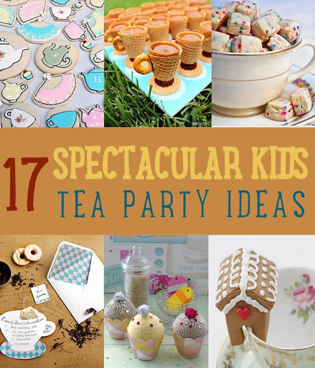 Fotografía - 17 Ideas Espectacular DIY Niños Tea Party