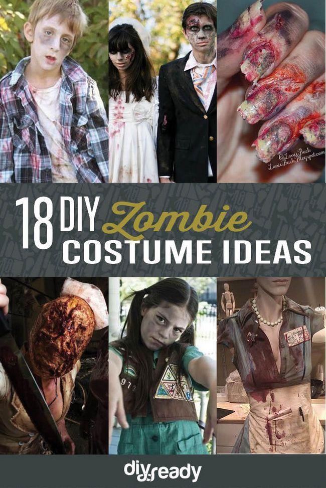 Fotografía - 18 de bricolaje Ideas Zombie Costume