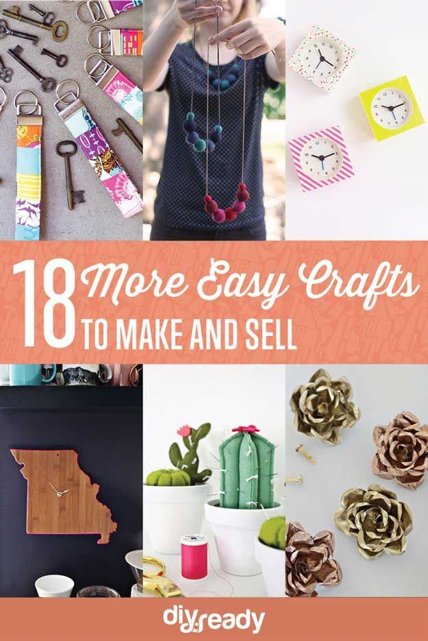 18 Más fácil Craft para fabricar y vender | http://artesaniasdebricolaje.ru/18-more-easy-crafts-to-make-and-sell/