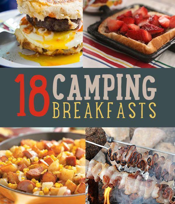 18 Mouthwatering Desayuno Recetas para probar en su próximo viaje de camping