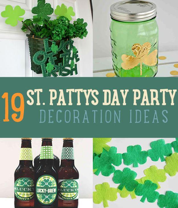 Fotografía - 19 Increíbles ideas de decoración del partido St Patricks Day