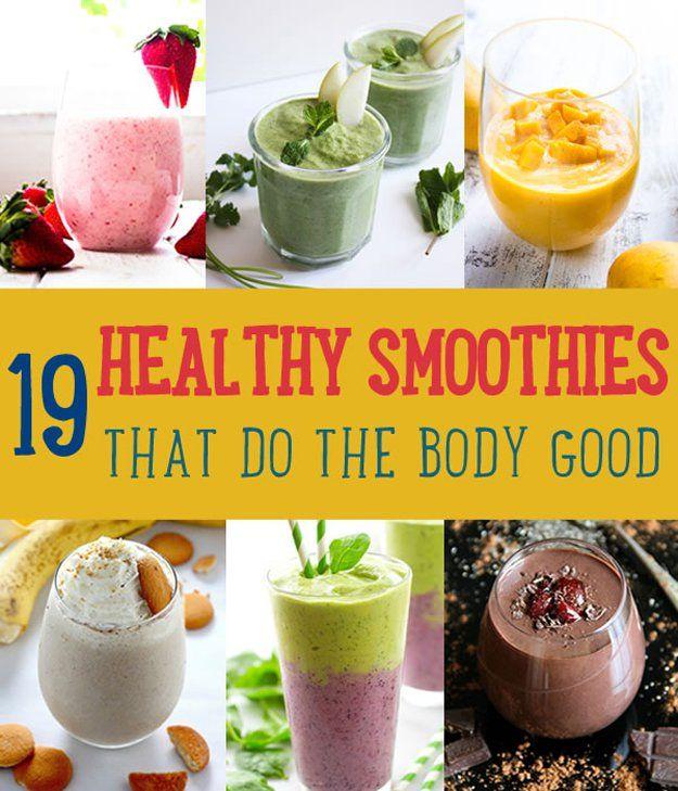 Fotografía - 19 saludables batidos que hacen el cuerpo bueno