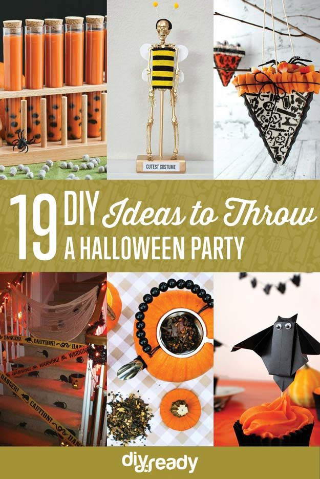 Fotografía - 19 Ideas de bricolaje Spooky & Fun hacer una fiesta de Halloween en su casa!