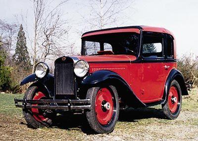 Este estadounidense Austin modela un cupé era parte de la línea estadounidense Austin 1930-34.