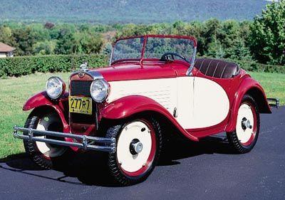 Este estadounidense Austin Modelo A Roadster fue parte de la línea americana Austin 1930-34.