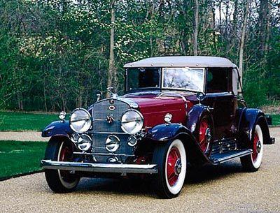 Fotografía - 1930-1937 dieciséis años de Cadillac