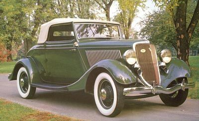 1934 Velocidad Ford DeLuxe Roadster