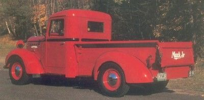 Pickup 1937-1938 Mack Jr media tonelada