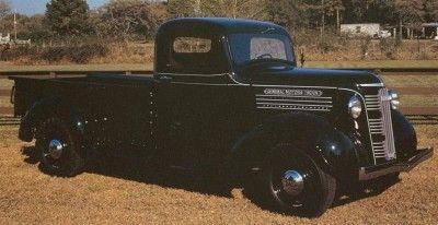 Recogida 1937 GMC