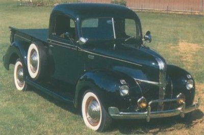 Pickup 1940-1941 Ford media tonelada