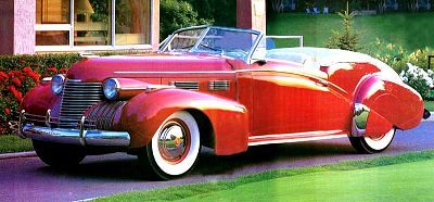 1940 Cadillac Custom Convertible