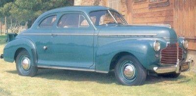 1941 Chevrolet Pickup Coupe vista completa.